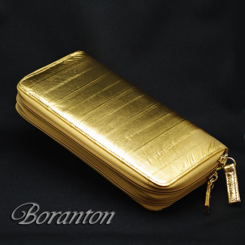 Gold‐Wラウンドファスナーマチ